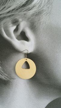 Boucles d'oreilles Vanille