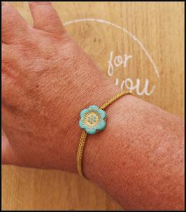 Bracelet Fleur d'anémone
