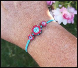 Bracelet 3 fleurs