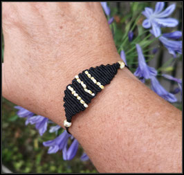 Bracelet Plastron Macramé