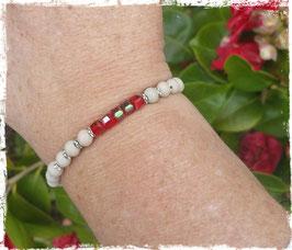 Bracelet bois Cristal 1