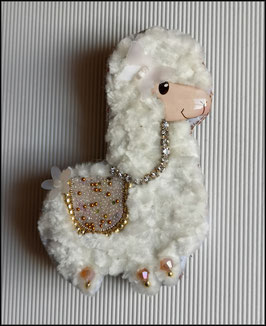 Broche Lama Fluffy
