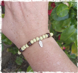 Bracelet bois Plume