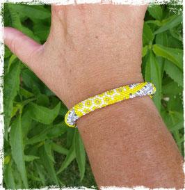 Bracelet Crocheté Graphique