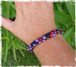 Bracelet Crocheté de Printemps