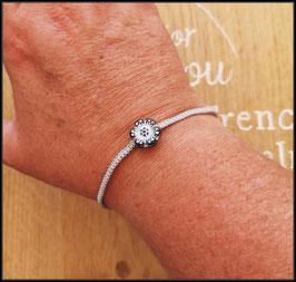 Bracelet Fleur Hawaïenne
