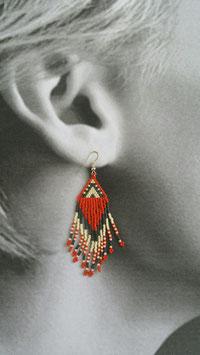 Boucles d'oreilles Apiatan