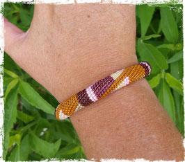 Bracelet Crocheté Art Déco