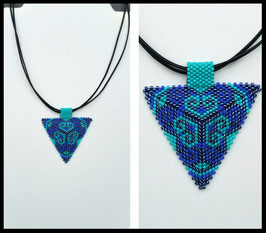 Collier Triangle Coeur