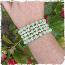 Bracelet bois MW vert