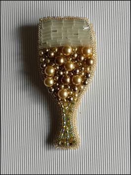 Broche Coupe de champagne