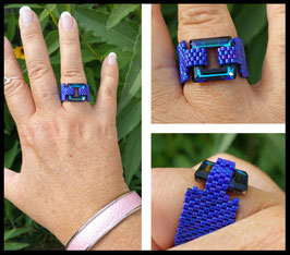 Bague Cosmic Square Isabelle