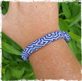 Bracelet Crocheté Labyrinthe