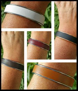 Bracelet Cuir Lisse