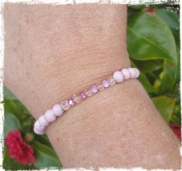 Bracelet bois Cristal 2