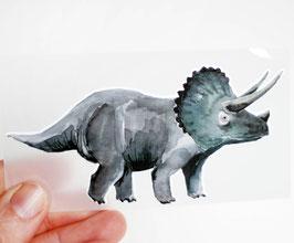 Bügelbild Dinosaurier - Triceratops