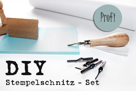 """DIY Stempelschnitzset """"Profi"""""""