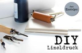 DIY Set Linoldruck für Anfänger