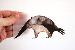 Bügelbild Ameisenbär