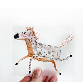 Bügelbild Pferd