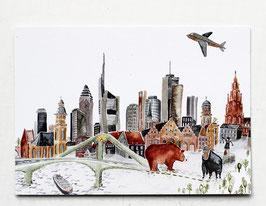 Grußkarte Frankfurt am Main | Postkarte