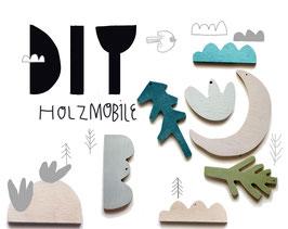 DIY Holzmobile Forest