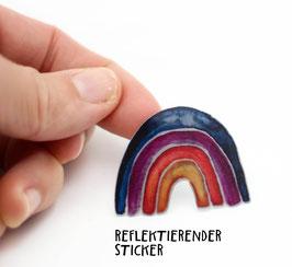 """Reflektierender Sticker """"Regenbogen""""   3er Set"""
