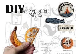 DIY Punchneedle Patches | Aufnäher