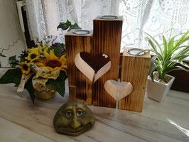 Herz / Stern Teelichthalter