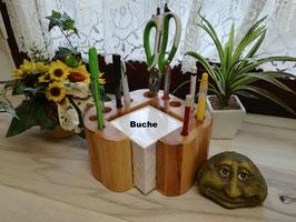 Zettelklotz Buche, Bambus oder Akazie