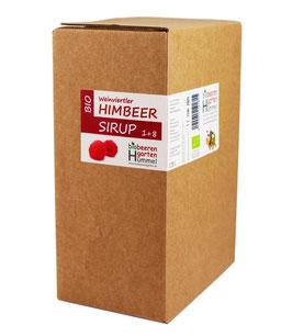 "Bio Himbeersirup 1500 ml ""Bag in Box"""