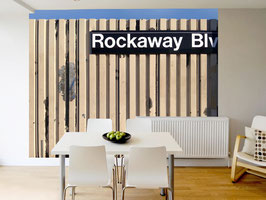 "Tapete ""Rockaway Boulevard""/ ""Third Avenue"""