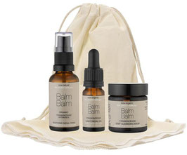 BALM BALM FRANKINCENSE ORGANIC SKINCARE COLLECTION - ORGANIC BAG / TRAVELKIT