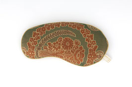 HOLISTIC SILK COMPUTER WRIST-REST GREEN BROCADE
