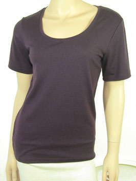 T-Shirt Scoop Neck wineberry