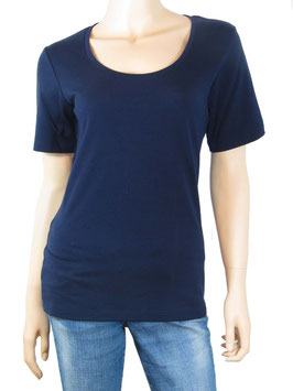 T-Shirt Scoop Neck navy