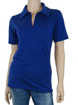 Polo-Shirt azure