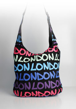 "Große Schultertasche London ""colour flash fuchsia"""