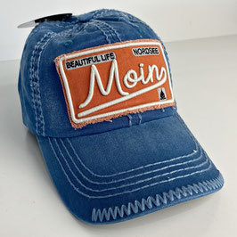 "Basecap Moin JOHNNY ""blue-orange"""
