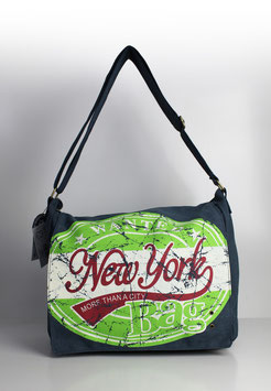 "Überschlagtasche New York ""big wanted style green"""