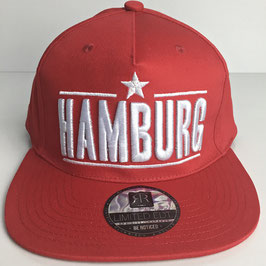 "Basecap Hamburg URBAN ""red limited"""