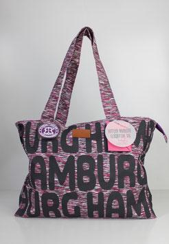"""Große Tasche Hamburg """"bold pink"""""""