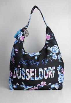 """Große Schultertasche Düsseldorf """"urban flower"""""""