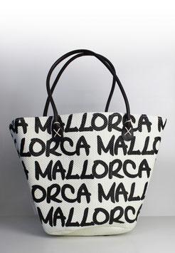 """Große Tasche Mallorca """"paper straw beige"""""""