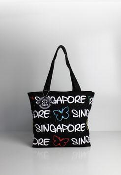 """Kleine Tasche Singapore """"Schmetterling"""""""
