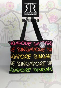 "Große Tasche Singapore ""Regenbogen"""