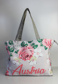 """Große Tasche Austria """"flower"""""""