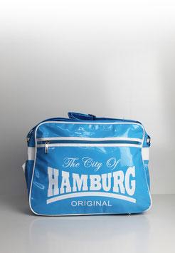 "Umhängetasche Hamburg ""colour punk babyblue"""