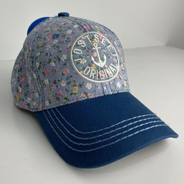 "Basecap Ostsee BLOSSOM ""blue"""