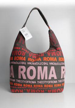 "Große Schultertasche Rom ""urban style red"""